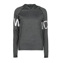BESSKY Women Letter Tracksuit Hoodied Sweatshirt Sport Wear Blouse Tops_