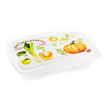 SNIPS Vintage Fresh Container 1L Rectangle Low (Set of 3 pcs)