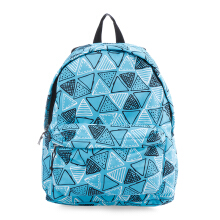 VOITTO Backpack 1716 Geo Triangles - Blue