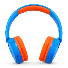 JBL JR 300 BT Kids On-Ear Headphones with Safe Sound Technology - Uno (Rocker Blue)