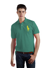 POLO RALPH LAUREN - Lacoste Mesh Polo Shirt Emerald Green Men