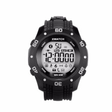 Vfocs Sports Smart Digital Watch with Bluetooth Pedometer Waterproof Black