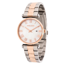 Police Primo Mother of Pearl Dial Stainless Steel Case Dual Tone St. Steel Strap [PL.14921LSTR/28M] Silver