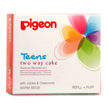 PIGEON TEENS Refill Two Way Cake Warm Beige 14g