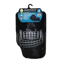 AVATAR 7904 Karpet Mobil - Smoke [4Pcs]