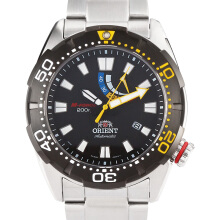 Orient M-Force Bravo Automatic Black Diver 200M Stainless Steel [SEL0A001B]