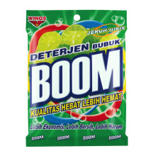 BOOM Powder Detergent Bag Jeruk Nipis 400gr