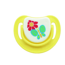 PIGEON Silicone Pacifier Step 1C - Yellow