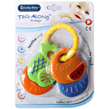 LUCKY Baby Funkeys Teether - Fruit (Assorted Colors)