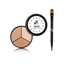 TT Max Trio Color Concealer Cream SPF15+++ (Free Brush) 100g