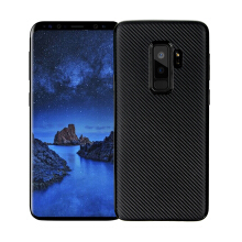 Smatton Case hp Samsung Galaxy S9 Plus Case Carbon Fiber Cover For Luxury Soft Ultra Thin Case shell