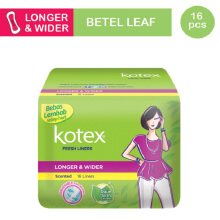 KOTEX Fresh Liner Betel Leaf - 16 S