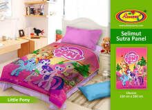 Selimut Rosanna Sutra Panel 150x200cm Little Pony - Pink