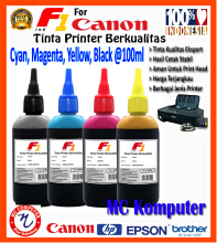 F1 Ink For Canon 1 Set 100 ml
