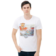 3SECOND Men Tshirt 0201 T02011812 - White