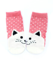 HEY! BABY Matching Kitty Sock