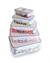 ADVANCE Lunch Box Good & Good - Transparent [5 Pcs]