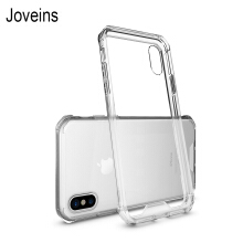 Joveins Ultra Thin Acrylic Case For iPhone X Dirt-resistant Case Transparent Soft High Transparency Case For  iPhone X