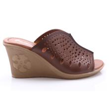 Dr. Kevin Women Wedges Sandals 27227 - Brown