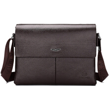 Wei's New collection! Men's Leather Messenger Bag Business and Professional handbag fdk616h