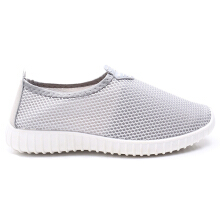 Dr. Kevin Soft & Comfortable Women Sneakers Slip On 5307 - Grey