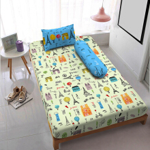 Kintakun D'luxe Sprei - 120 x 200 (Single) - Merci Paris