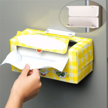 BESSKY Magnetic Toilet Paper Holder Adjustable Towel Tissue Roll Rack Stand For Kitchen_ White