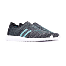 09710-Lightweight Sports Knitted Trainer Shoes-Green