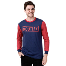 MOUTLEY Casual Tee 1408 - Black