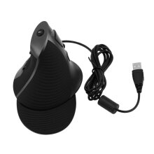 1200 DPI USB Wired Laser Ergonomic Vertical Mouse For PC Computer Laptop