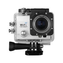 Waterproof Sports Action Camera Full HD Wi-Fi Anti-shake DV Silver