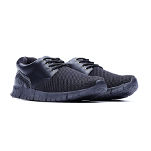 09591-Casual Lightweight Beam Casual Shoes Sneakers-Black