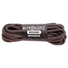 KIPZKAPZ RS40 Round Shoelace - Brown Clay [5mm] Brown 160 cm