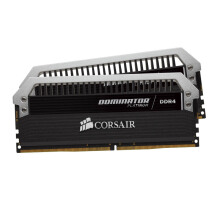 CORSAIR Dominator Platinum DDR4  Desktop 16GB (2X8GB) - CMD16GX4M2B3000C15