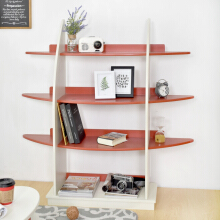LIVIEN Furniture Rak Buku - Timmy Console Rack - Red White