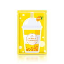ANNIE'S WAY Mango Bubble Tea Invisible Silk Mask 5pc [125gr]