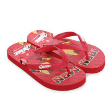 MARVEL Avengers Iron Man Flip Flops for Kids AVJD06 – Red