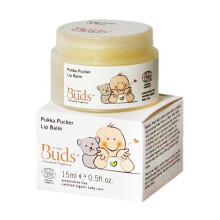 Buds Organic Pukka Pucker Lip Balm - 15 ml