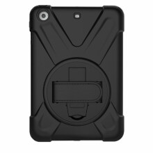 BESSKY Heavy Duty Rugged Hybrid Shockproof Armor Case Cover Stand For iPad mini1/2/3_