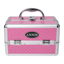 ANNIS Make Up Box D 06 - Pink Polkadot