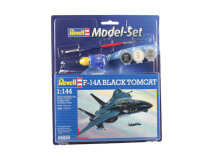 REVELL Model Set F14 A Black Tomcat - Plastic Model - Multicolor