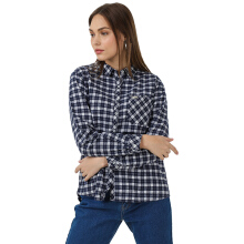 MOUTLEY Ladies Shirt 0410 [M04101721 ] - Blue