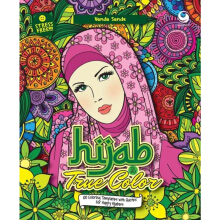 Hijab Is My True Color (100 Coloring Templates With Quotes For Happy Hijabers) - Vanda Sande - 9786023753666
