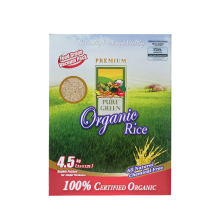 PURE GREEN Organic Rice Coklat 4.5kg