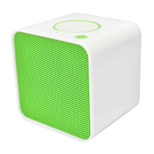 Vinmori Portable Bluetooth Speaker Mini Small Cube Multi-function TF FM Radio   Wireless Speaker Handsfree with Microphone Green