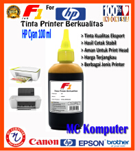 F1 Ink For HP Yellow 100 ml