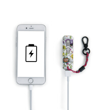 SAKROOTS Dangle Powerbank in Optic Peace