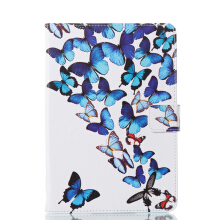 Sentum Apple iPad mini 4 Case Tablets Flip Stand Leather Butterfly