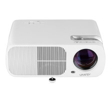 Refurbished Uhappy mini LED LCD projector  USB/HDMI/ATV/AV/VGA home theater EU 800*480 White and Black