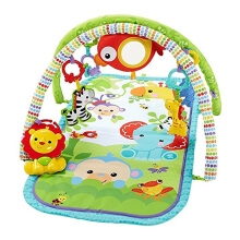 FISHER PRICE New Born 3-IN-1 Musical Activity Gym Rainforest CHP85